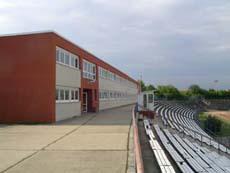 Stadiongebäude